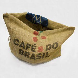 coffee sack planter